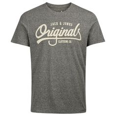 Buy Jack & Jones Originals Men's Jolla T-Shirt - Grey from Zavvi, the home of pop culture. Take advantage of great prices on Blu-ray, merchandise, games, clothing and more! Jack Jones, Men's Clothing, Wardrobe Staples, The Originals, Grey, Casual, Mens Tops, T Shirt, Stuff To Buy