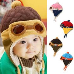 d54cf3ce3ee Toddler Winter Pilot Beanie. Baby Beanie HatsBaby Boy HatsBaby Boy  OutfitsKids HatsGirl ToddlerBaby GirlsBaby Winter4 YearsUnisex Baby