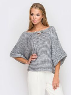 27 knitted women pullover to copy now – Artofit Knitwear Fashion, Cozy Fashion, Crochet Fashion, Sweater Fashion, Fashion Outfits, Knit Vest Pattern, Vogue Knitting, Knitting Designs, Crochet Clothes