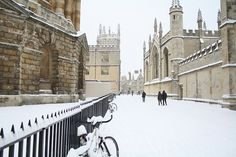 Oxford Snow by simononly, via Flickr