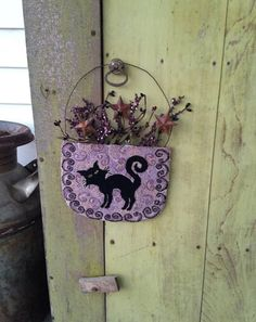 Black Cat Basket By Amber Ritchie at Sugar Creek Kreations