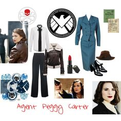 Agent Carter  | simple cosplay ideas for Dragon Con!