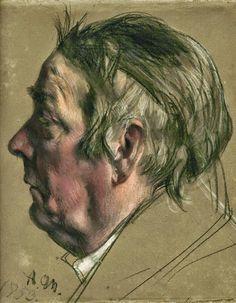 Adolph von Menzel ~ Impressionist / Realist History painter | Tutt'Art@ | Pittura * Scultura * Poesia * Musica |