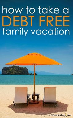 take debt free family vacation Here's how we paid ALL CASH for our family vacation this summer + a FREE printable Vacation Planner so you can, too!