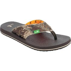 Men's Sanuk Mossy Oak Sandals