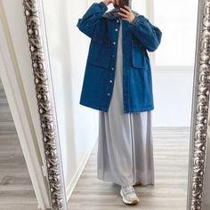 Vestes/manteaux Archives - Samsoukka Hijab Style Dress, Modest Fashion Hijab, Modern Hijab Fashion, Modesty Fashion, Casual Hijab Outfit, Hijab Chic, Girls Fashion Clothes, Fashion Outfits, Moslem Fashion