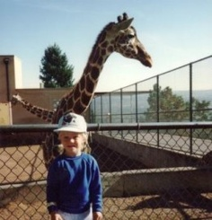 Andrew and a giraffe at the Colorado Springs Cheyenne Mountain Zoo. I would give anything to go back to that time when my children were little. It was so much fun! Went by way too quickly. Wasn't he adorable?