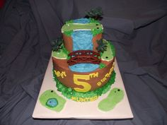 Putt Putt Themed Cake
