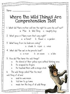 Step into 2nd Grade with Mrs. Lemons: Where the Wild Things Are