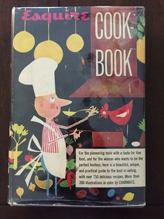 This was my Mom's favorite cookbook when I was a child : Esquire Cookbook 1955 1st edition by RandRVintageBooks on Etsy