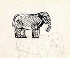 Joaquín Torres-García Catalogue Raisonné | Elefantes, c.1917–19 ...