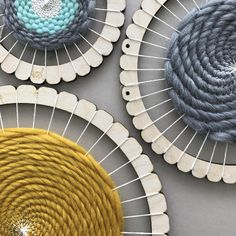 Wool Couture's Large Rectangular Loom is the perfect Gift idea for a crafter! With our looms you can make wall hangings, decorations, small cushions. the opportunities are endless. Tapestry Weaving, Loom Weaving, Loom Yarn, Yorkshire, Kit, Circular Weaving, Circle Loom, Deco Boheme Chic, Round Loom