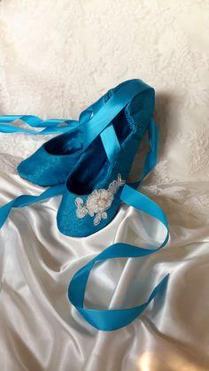 b6e05b3707fd Something Blue Bridal Shoe Something Blue by HopefullyRomantic Blue Bridal  Shoes