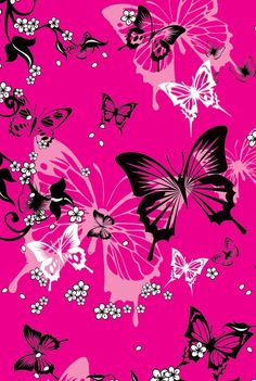 Very pretty butterfly pictures, photo backgrounds, pink background wallpapers, wallpaper backgrounds, cute Cute Wallpaper For Phone, More Wallpaper, Cellphone Wallpaper, Wallpaper Backgrounds, Iphone Wallpaper, Photo Backgrounds, Butterfly Background, Butterfly Wallpaper, Paper Butterflies