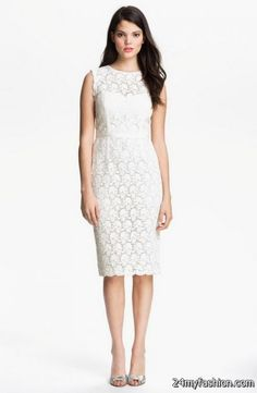 Nice Lace sheath dresses 2018-2019 Check more at http://myclothestrend.com/dresses-review/lace-sheath-dresses-2018-2019/