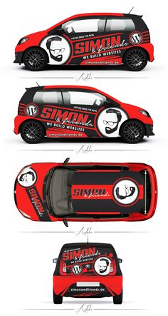 simon and friends skoda citigo monte carlo wrap | 99designs