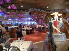Carnival Miracle - Bacchus Dining Room
