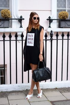 monochrome outfit Fashion Blogger EJSTYLE