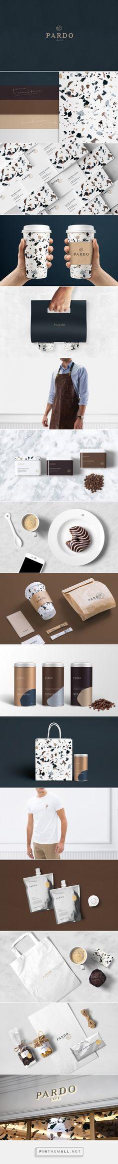 Pardo Cafe Branding and Packaging by Slavador Munca | Fivestar Branding Agency – Design and Branding Agency & Curated Inspiration Gallery : Alleen het design van het printje is al voldoende om de verpakking en de huisstijl er leuk uit te laten zien
