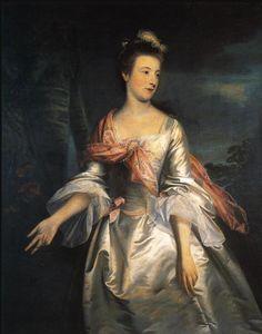 1755 Lucy, Lady Strange by Sir Joshua Reynolds