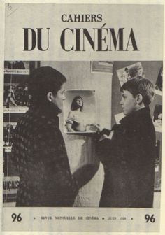 Chabrol was a critic for the influential film magazine Cahiers du cinéma before beginning his career as a film maker. Cinema Video, Francois Truffaut, Jean Luc Godard, French Movies, Movie Magazine, Making Faces, Great Films, Graphic Design Branding, Illustrations