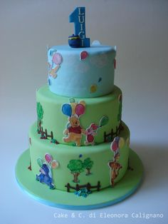 Winnie the pooh - Cake by Eleonora Calignano