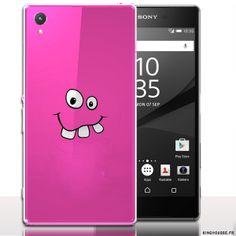 Accessoire téléphone : Coque xperia z5 Funny Face. #XperiaSony #Z5 #Funny #Face #etui