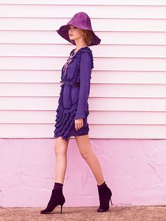Purple Reign: ru_glamour — LiveJournal Marie Claire Australia, Purple Reign, Glamour, Shirt Dress, Elegant, Model, Shirts, Formal Outfits, Dresses