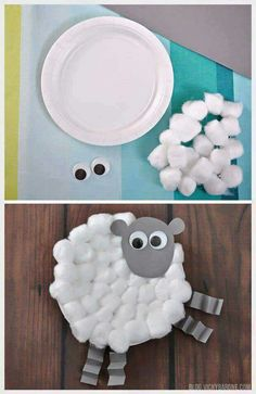 Sheep art activity to go with CKLA farm unit