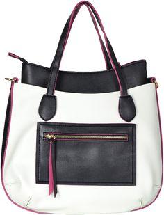Elegantná a praktická kabelka značky David Jones. David Jones, Pure White, Diaper Bag, Shoulder Bag, Pure Products, Bags, Shopping, Fashion, Handbags