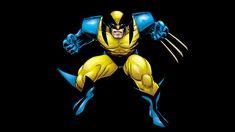 Wolverine Marvel Carton Black Wallpaper HD