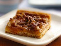 Quick Crescent Pecan Pie Bar Recipe by Pillsbury.com, via Flickr More