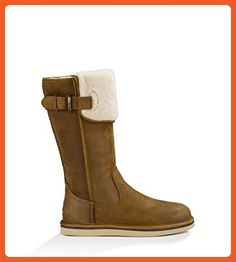 UGG Women's Willow Chestnut Leather Boot 7 B (M) - Boots for women (*Amazon Partner-Link)
