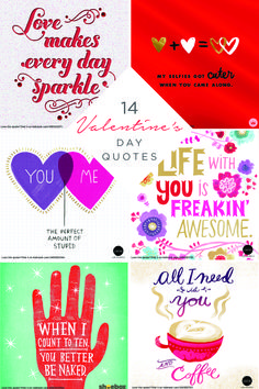 Find the perfect words to say to that special someone this Valentine's Day. From cutesy to risqué, Hallmark has you covered with these shareable quotes.