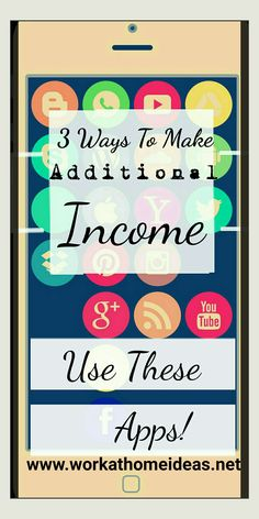 Here are three ways you can make additional money! First of all, you will see my articles will be straightforward, and to the point. I will not include a lot of additional thoughts, and explanations beyond what I believe is necessary. So let's get started!  If you have a smartphone, each of these ideas …