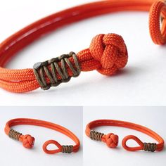 How to Make a Diamond Knot and Loop Closure/ Micro Cord Cobra Weave Paracord Fri. - How to Make a Diamond Knot and Loop Closure/ Micro Cord Cobra Weave Paracord Friendship Bracelet Yo - Jewelry Knots, Bracelet Knots, Bracelet Crafts, Paracord Bracelets, Macrame Bracelets, Diy Jewelry, Jewelry Making, Sailor Knot Bracelet, Paracord Keychain