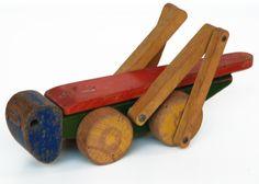 cavalletta vintage in legno. h.cm.12x27x9.