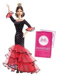 Barbie Collector - X8421 - Poupée du Monde - Espagne Barbie http://www.amazon.fr/dp/B009F7OQKE/ref=cm_sw_r_pi_dp_nibuub1WJ61C4