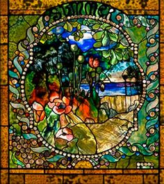 "Four Seasons ""Summer"" by Louis Comfort Tiffany"