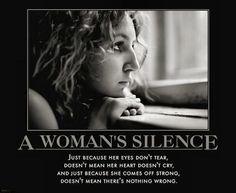 Women greive different