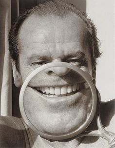 Herb Ritts' classic photo of pop icon Jack Nicholson