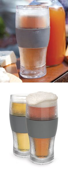 Freezer pint glass