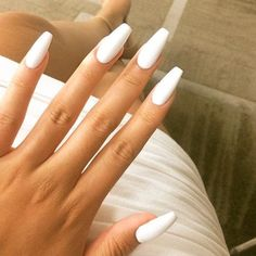 Coffin/Ballerina nail-perfection.