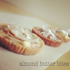 Almond butter bark in tart form. I Quit Sugar. Sarah Wilson