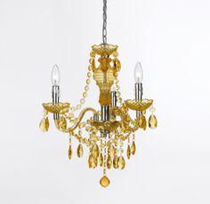 Room-33 - Mini 3-Light Plastic Chandelier in Gold, $98.00 (http://www.room-33.com/mini-3-light-plastic-chandelier-in-gold/)