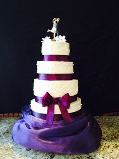 Rudd/Chapman Wedding Cake