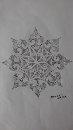 Mandala Pontilhismo Lotus Mandala, Mandala Art, Mandala Tattoo Design, Tattoo Designs, Sacred Geometry Meanings, Arabesque, Henna, Geometry Tattoo, Ink Pen Drawings