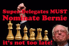 My #MondayMotivation is to tell #DemsInPhilly to NOMINATE BERNIE not Hillary Rotten Clinton! https://medium.com/@Starkweather/has-donald-trump-already-won-the-election-e393f6cf717b#.4r4gujshx …