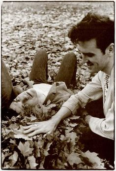 Mike Joyce and Morrissey of The Smiths at Kew Gardens, London, England (1983) ― photo by Derek Ridgers.