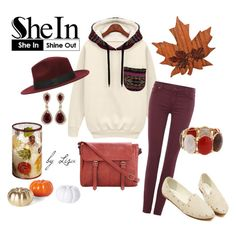 """""""SheIn-the great pocket sweatshirt"""" by coolmommy44 ❤ liked on Polyvore featuring Pier 1 Imports, 7 For All Mankind, Erica Lyons, Effy Jewelry, Sheinside and shein"""